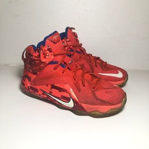 Nike Lebron 12 XII 'Independence Day' Size 5y